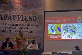Enam perlintasan gajah dibangun di tol Pekanbaru-Dumai 131,48 km