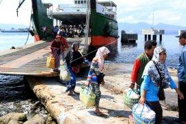 Pelabuhan Ketapang mulai ramai pemudik