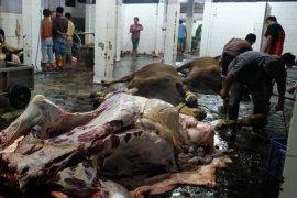Tim gabungan Pemkot Magelang razia penjualan daging jelang Lebaran
