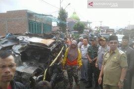 Dua korban mobil terbakar di Rejang Lebong warga Lubuklinggau
