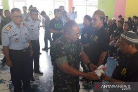 Korem 133/Nani Wartabone bantu warga binaan Lapas Gorontalo