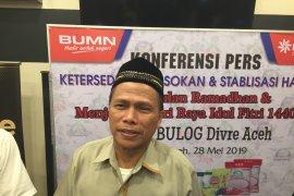 Persediaan beras di Aceh cukup hingga awal 2020