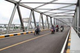 Dishub Kota Pontianak tutup total Jembatan Landak untuk diperbaiki