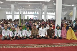 Baznas Tebing Tinggi bagikan 1.265 paker Ramadhan