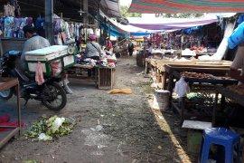 Pasar Stabat kumuh dan jorok