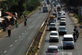 "Polres Karawang waspadai kepadatan arus di jalur Pantura akibat ""one way"""