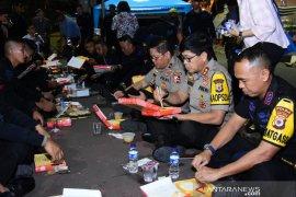 Kapolda Maluku buka puasa bersama brimob di Bundaran HI
