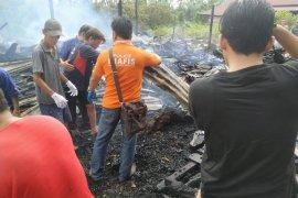 Polsek Utara selidiki kebakaran satu rumah sebabkan satu korban meninggal