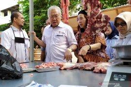 Mendag : Harga bahan pangan di Bandung cenderung normal