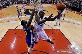 Raptors bukukan debut manis di final NBA, tundukan GS Warriors