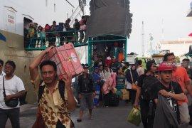 Kapal Pelni angkut pemudik terbanyak dari Balikpapan