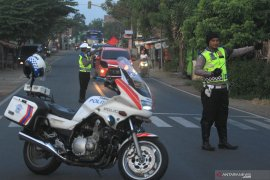 Polisi Aceh Utara ingatkan pemudik daerah rawan laka lantas