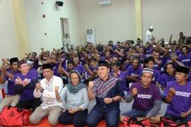 PWI Jatim dan Semen Indonesia bagikan santunan ke 100 dhuafa