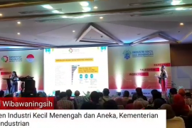 Video - Kemenperin bawa IKM Kalbar go digital melalui E-Smart lKM