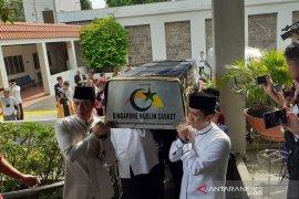 Jenazah Ani Yudhoyono dimakamkan Minggu di TMP Kalibata
