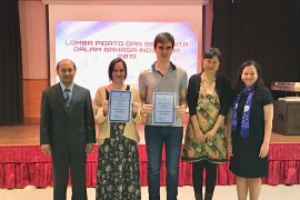 Juara pidato dan cerita, pelajar Perancis bahas topik toleransi