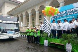 PTPN IV berangkatkan 1.080 pemudik  Lebaran dari Medan