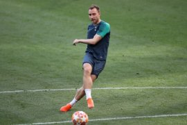 Eriksen berencana tinggalkan Tottenham, buka opsi ke Madrid