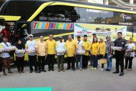 Golkar berangkatkan 30 bus mudik gratis