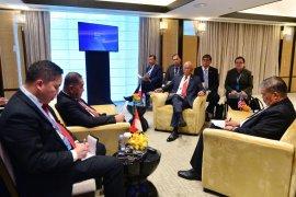 Ryamizard bicara latihan bersama dalam pertemuan trilateral