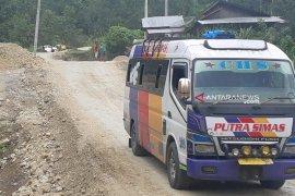 Jalur Padangsidimpuan - Tarutung lancar dilalui pemudik