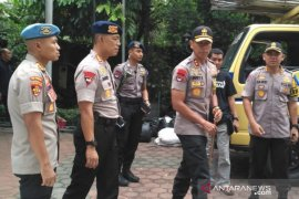 400 polisi dikerahkan amankan rumah duka Ani Yudhoyono