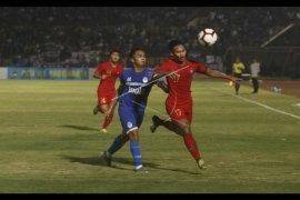 Timnas U-23 ditahan PSIM Yogyakarta, skor 0-0