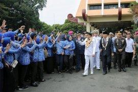 ASN Pemprov Lampung Lepas Ridho-Bachtiar di Akhir Masa Jabatannya
