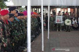 Upacara penyemayaman Ani Yudhoyono di Cikeas libatkan puluhan TNI