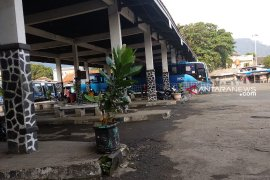 Puncak kedatangan pemudik di Terminal Palabuhanratu diperkirakan H-3