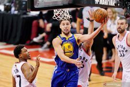 Golden State tahan Toronto untuk samakan kedudukan Final NBA