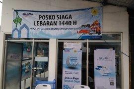 PLN dirikan posko pijat refleksi pemudik di pelabuhan Merak, Banten