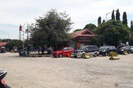 H-1 Lebaran, arus mudik di Pelabuhan Tanjungkalian Muntok terpantau sepi