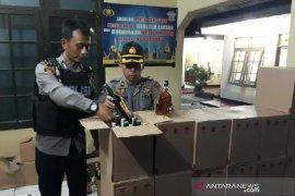 Polisi gagalkan penjualan minuman keras untuk malam Lebaran di Garut