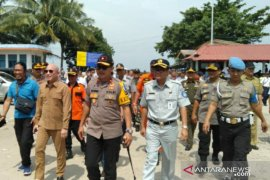 Jasa Raharja Babel dirikan posko kesehatan di Pelabuhan Tanjungkalian