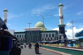 Polda Malut siapkan areal parkir Shalat Id di Masjid Al-Munawwar