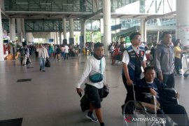 Pemudik: Penumpang Garuda Indonesia cukup padat
