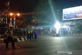 Polisi olah TKP ledakan bom di Kartasura