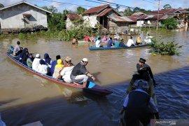 Banjir rendam lima kecamatan di Kapuas Hulu