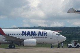 Maskapai Nam Air di Bandara Depati Amir tambah penerbangan