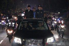 Malam takbir, Bima Arya sidak Pospam wilayah Kota Bogor