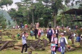 Kunjungan wisata ke Gunung Padang meningkat tajam
