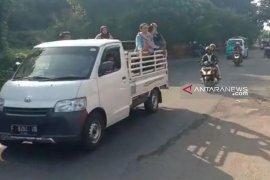 Jalur alternatif Cikidang-Palabuhanratu mulai ramai kendaraan wisatawan