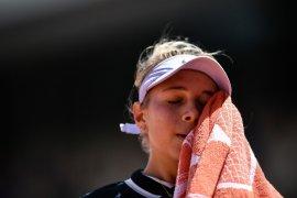 Anisimova kalahkan Halep, bertemu Barty di semifinal