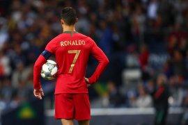 Cristiano Ronaldo akhiri puasa gol timnas selama 349 hari