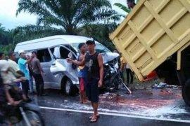 Kecelakaan di Mukomuko, seorang sopir tewas