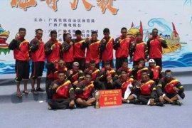 Tim perahu naga Indonesia juara umum  Kejuaraan China-ASEAN