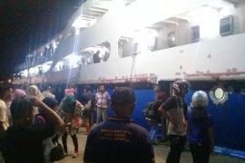 Jumlah penumpang arus balik di pelabuhan Bastiong Ternate melonjak