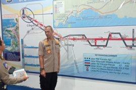 Wakapolda Banten tinjau Pelabuhan Merak pastikan kelancaran arus balik