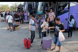 Arus balik mulai ramai di Terminal Mengwi